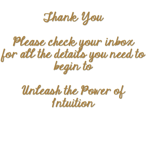 qatana thank u words Unleash the Power of Intuition Thank You