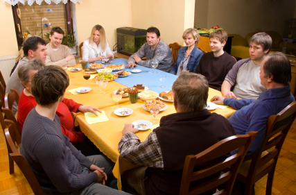 Family Dinner Tales for Our Times How A Kindly Old Man Helped Jessica Overcome Her Public Speaking Anxiety