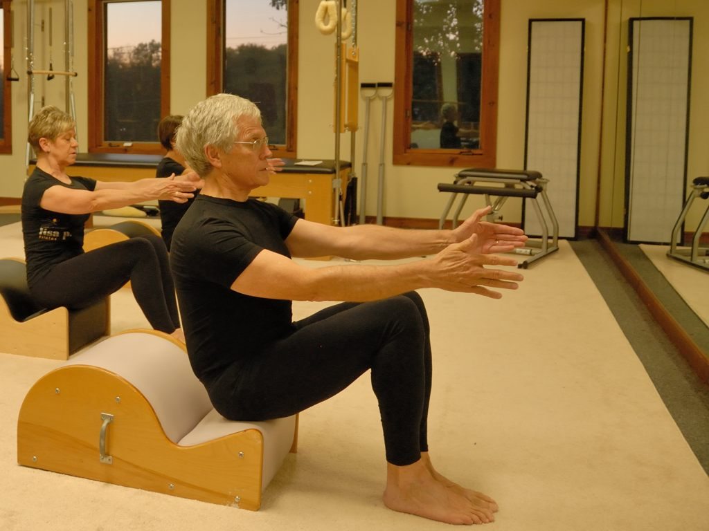 Jim in Pilates Class Love What You Hate